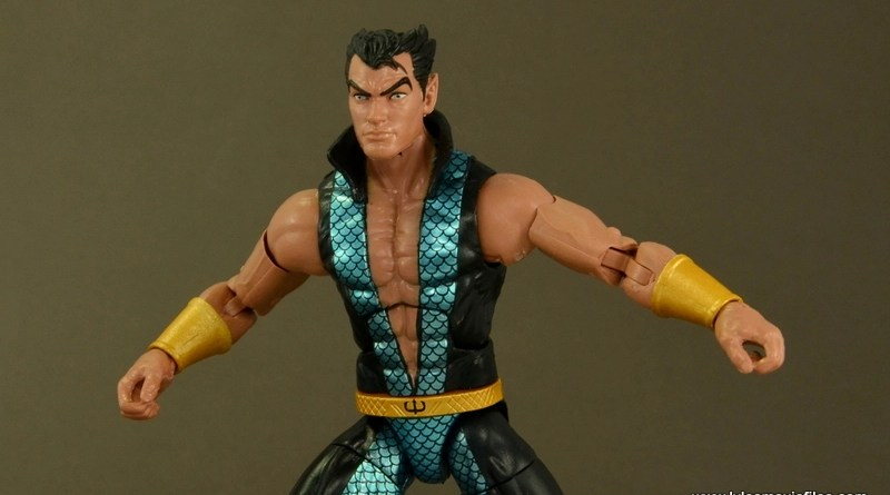 Marvel Legends Namor figure review - main