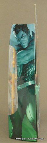 Marvel Legends Namor figure review -package side