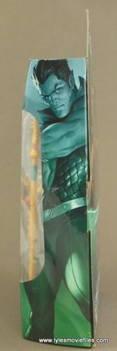 Marvel Legends Namor figure review -package side