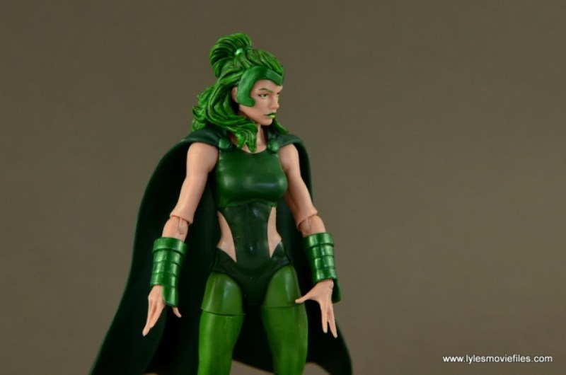 Marvel Legends Polaris figure review - main pic