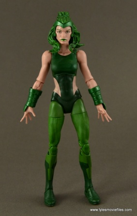 Marvel Legends Polaris figure review - no cape