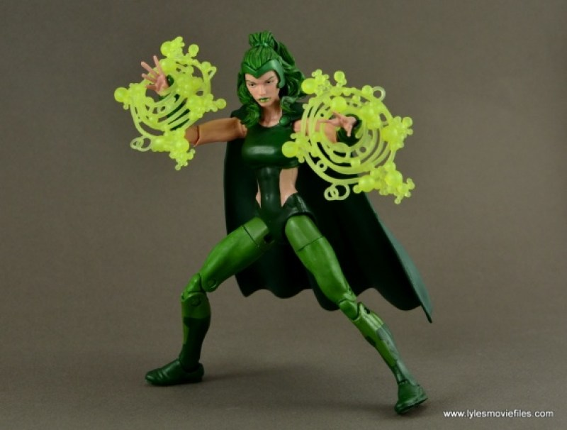 Marvel Legends Polaris figure review - ready for action