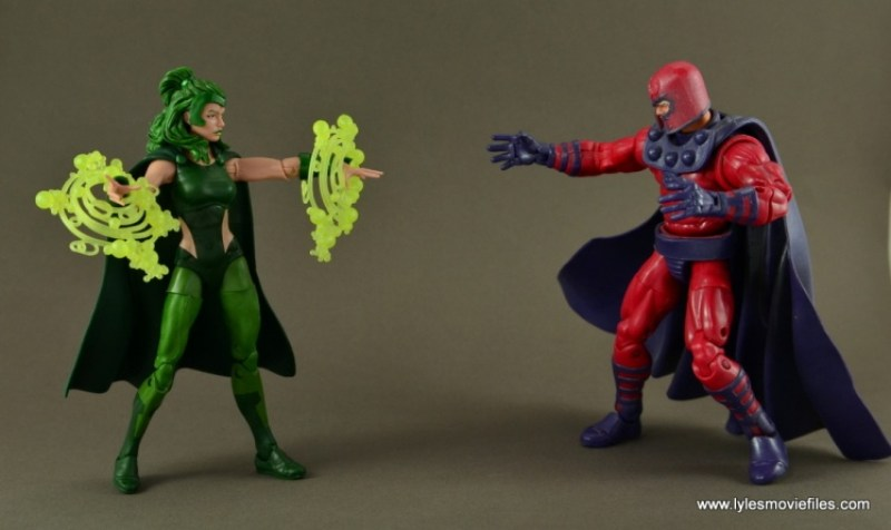 Marvel Legends Polaris figure review - vs Magento