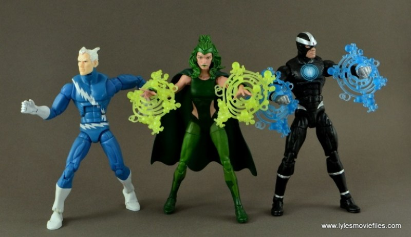 Marvel Legends Polaris figure review - with Quicksilver and Havok