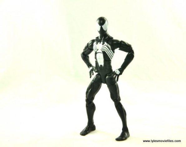 Marvel Legends Symbiote Spider-Man figure review - standing
