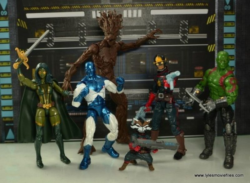 Marvel Legends Vance Astro figure review - Guardians of the Galaxy
