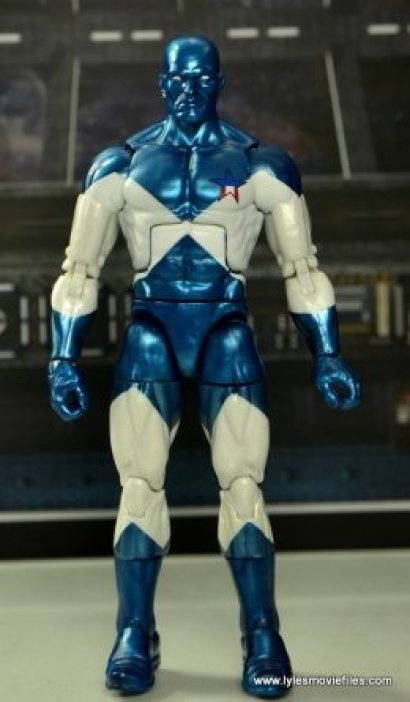 Marvel Legends Vance Astro figure review - front
