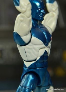 Marvel Legends Vance Astro figure review - paint lining