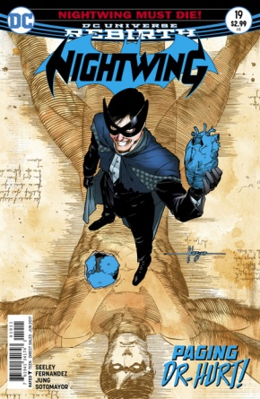 Nightwing #19 cover