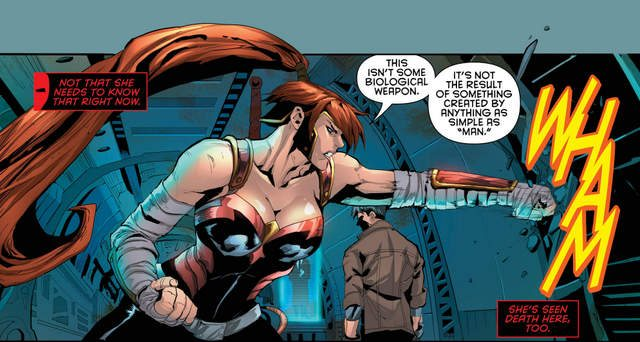 Red Hood and the Outlaws #9 interior art
