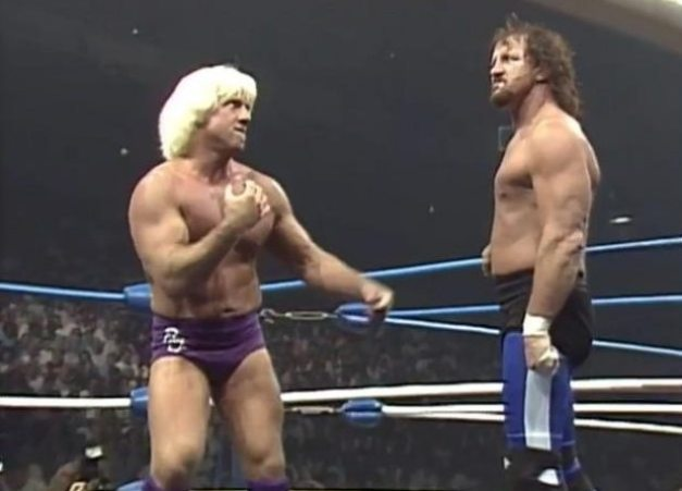 Ric Flair 1989 - Great American Bash 1989 Flair vs Funk