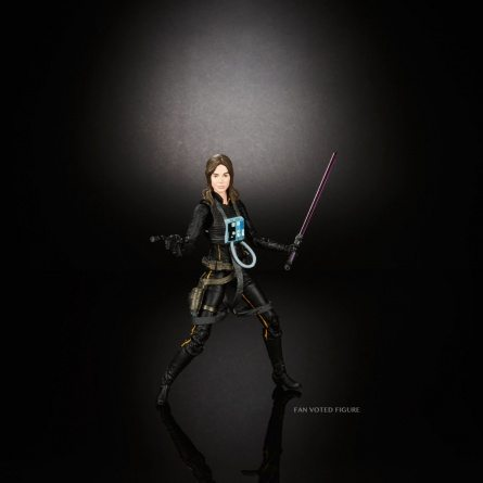 Star Wars Black Series Jaina Solo action pose