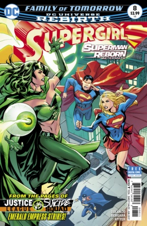 Supergirl #8 cover