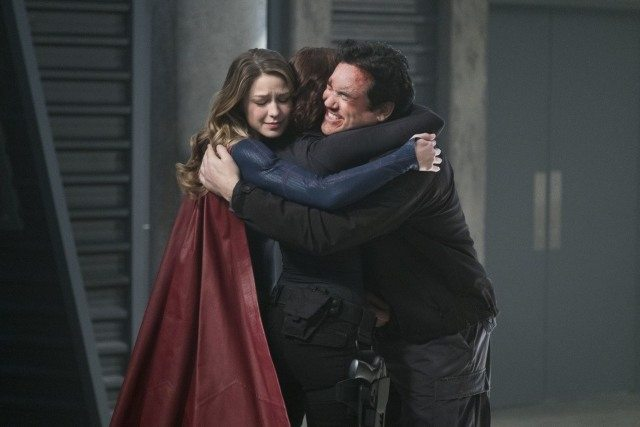 Supergirl Homecoming - Supergirl, Alex and Jeremiah