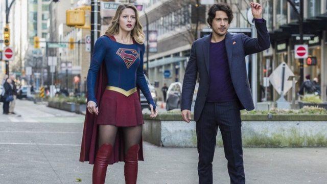 Supergirl Mr and Mrs Mxyzptlk - Supergirl and Mr. Mxyzptlk