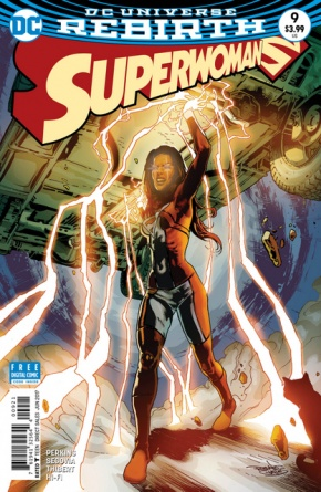 Superwoman #9 cover