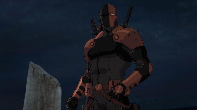 Teen Titans The Judas Contract - Deathstroke