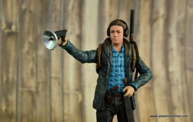 The Walking Dead Aaron figure review - focusing listening device