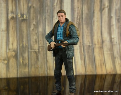 The Walking Dead Aaron figure review -gripping rifle