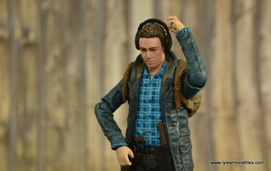 The Walking Dead Aaron figure review -listening in