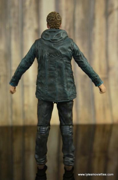 The Walking Dead Aaron figure review - rear
