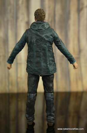 The Walking Dead Aaron figure review - rear