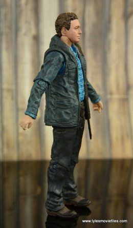 The Walking Dead Aaron figure review -right side