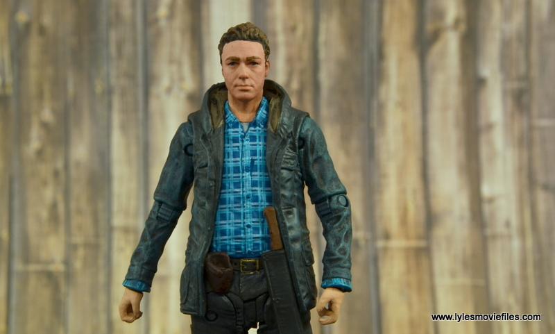 The Walking Dead Aaron figure review - straight