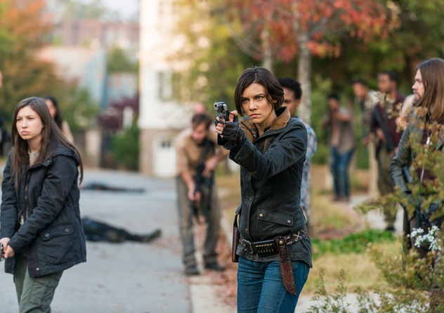 The Walking Dead The First Day of the Rest of Your Life - Enid, Maggie and Jesus