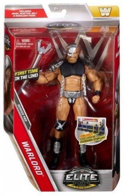 WWE Elite 50 Warlord