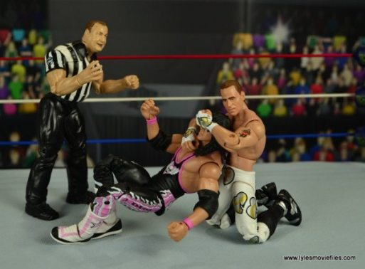 WWE Wrestlemania 12 Elite Shawn Michaels figure review -chinlock