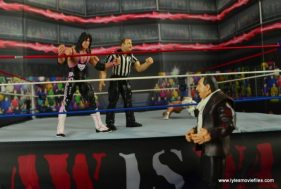 WWE Wrestlemania 12 Elite Shawn Michaels figure review -restarting the match
