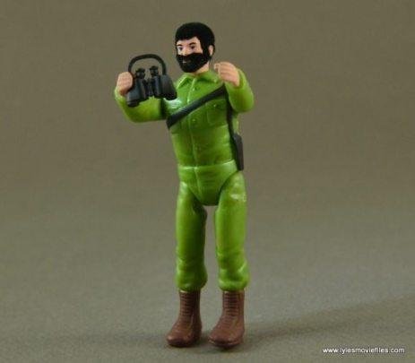 World's Smallest GI Joe figure - holding binoculars