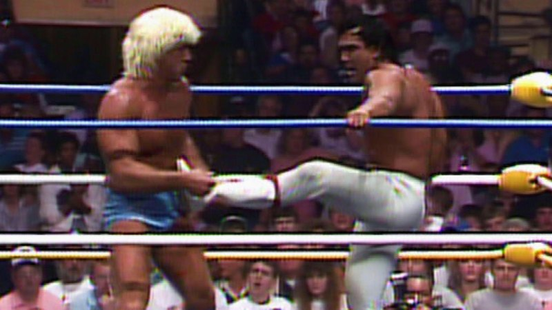 Wrestle War 1989 - Ric Flair vs Ricky Steamboat