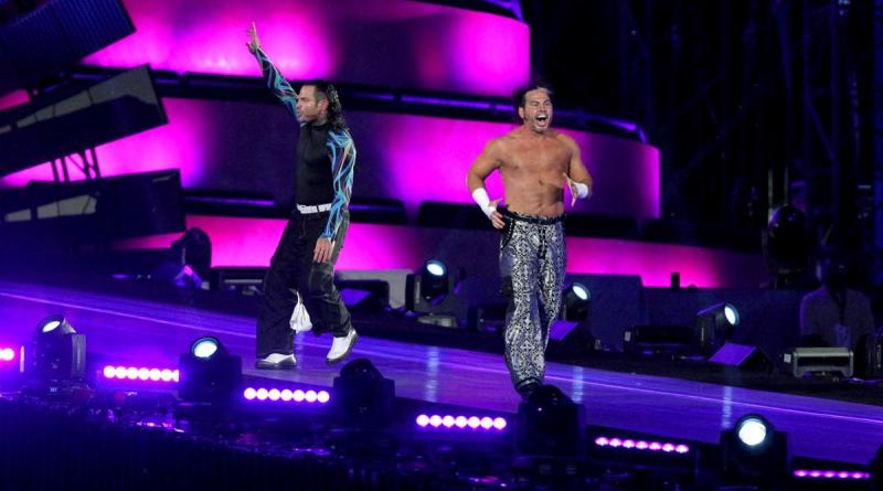 Wrestlemania 33 - The Hardy Boyz