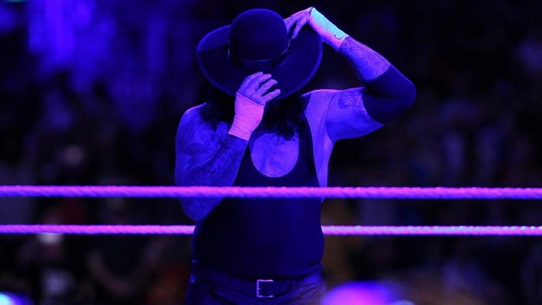 Wrestlemania 33 - The Undertaker says farewell