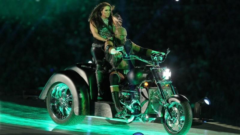 Wrestlemania 33 - Triple H and Stephanie McMahon