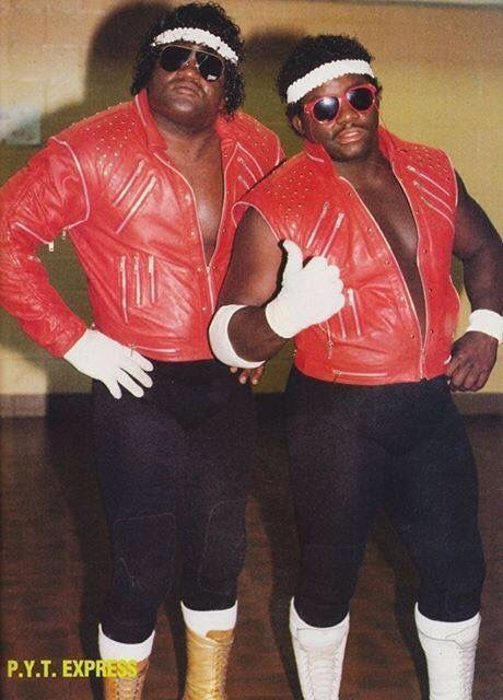 Wrestling P.Y.T. Express influenced by Michael Jackson