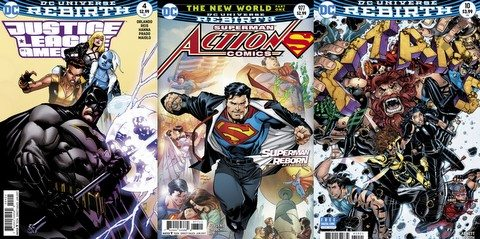 DC Comic reviews 4/12/17