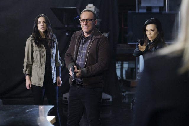 Agents of SHIELD All the Madame's Men - Daisy, Coulson and May