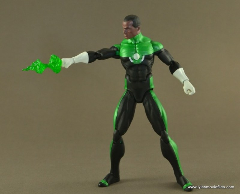 DC Icons John Stewart figure review -energy burst