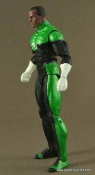 DC Icons John Stewart figure review - left side