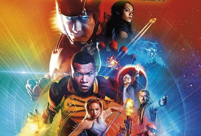 DC's Legends of Tomorrow Season 2 Blu Ray close-up