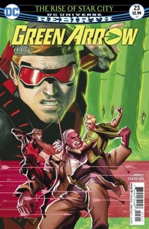 Green Arrow #23 cover