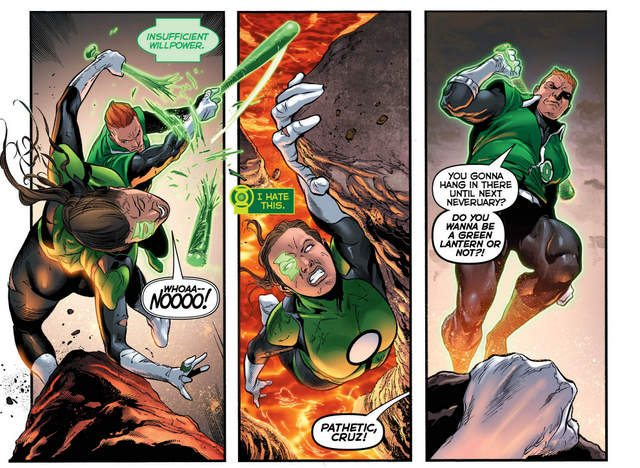 Green Lanterns #23 interior art
