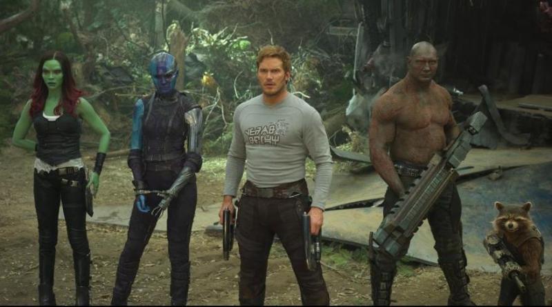 Guardians of the Galaxy Vol. 2 - Gamora, Nebula, Star-Lord, Drax and Rocket