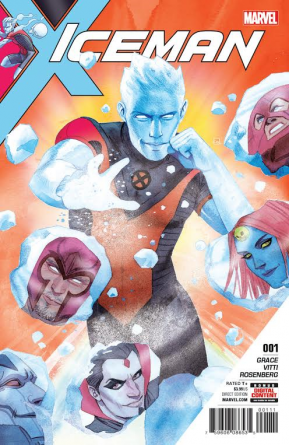 Iceman #1 main cover