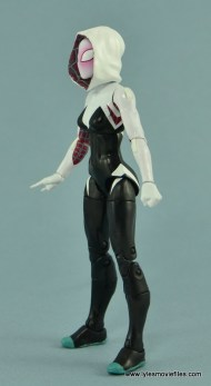 Marvel Legends Spider-Gwen figure review - left side