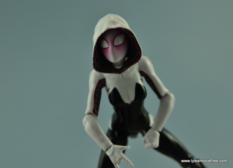 Marvel Legends Spider-Gwen figure review - ready for battle