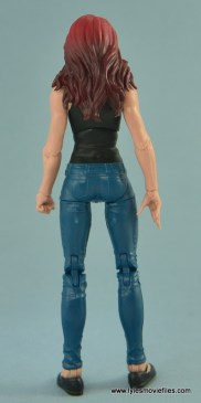 Marvel Legends Spider-Man and Mary Jane Watson figure review - MJ rear